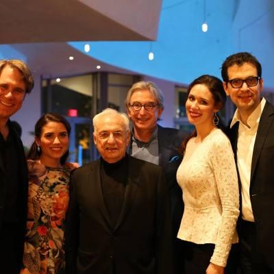Walt Disney Concert Hall with Brandon Jovanovich, Joélle Harvey, Frank Gehry, Tamara Mumford, Luca Pisaroni.