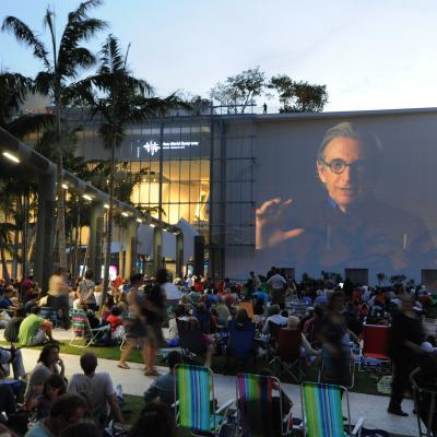 19. New World Symphony WALLCAST concert at New World Center - photo by WorldRedEye.com
