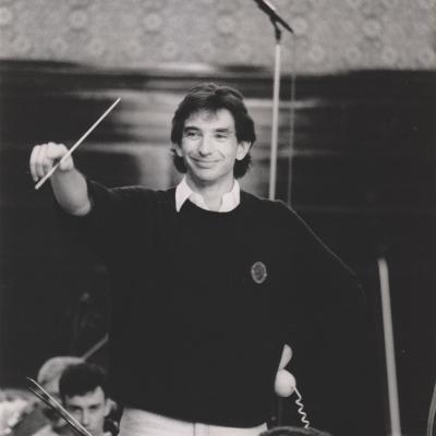 1988 MTT and LSO recording Ein Heldenleben, Photo Terry Lott