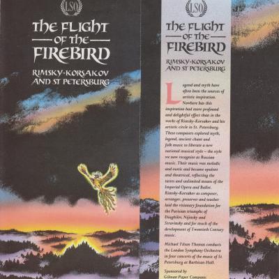 1989 Flight of the Firebird leaflet