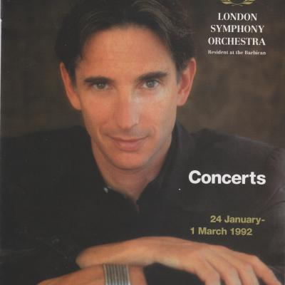 1992 LSO Spring concerts