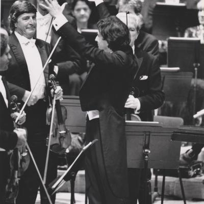 1993 LSO Barbican concert, Photo Keith Saunders
