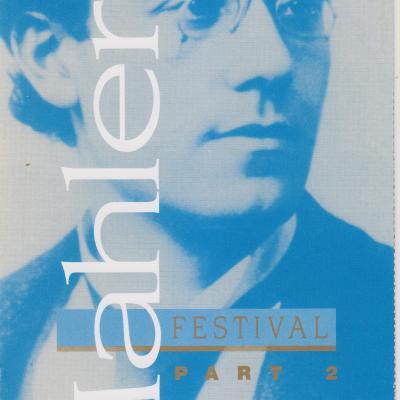 1995 LSO Mahler Festival leaflet