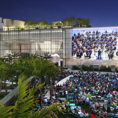 2. New World Symphony WALLCAST concert - photo by Rui Dias-Aidos