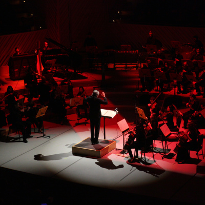 66. Michael Tilson Thomas conducts the New World Symphony in its John Cage festival - photo by Rui Dias-Aidos
