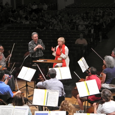 MTT & Marina Mahler, San Francisco Symphony on tour