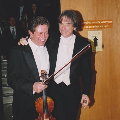 MTT & Sasha Barantschik, LSO Leader, Athens 2000