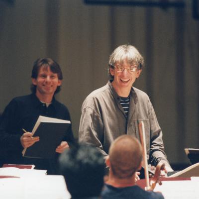 MTT and Steven Mackey October 1998