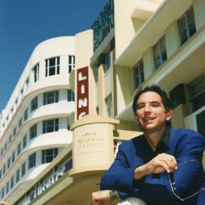 MTT outside Lincoln Theatre (ca. 1993)