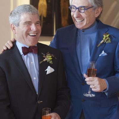 Michael Tilson Thomas and Joshua Robison marry on November 2, 2014