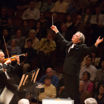 Michael Tilson Thomas and the SF Symphony by Kristen Loken