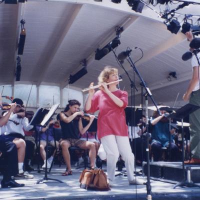 Ojai June 1994 MTT and Paula Robison